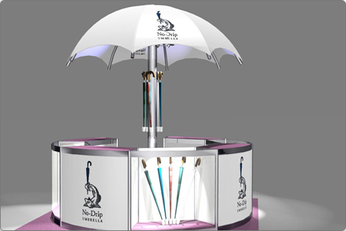 Welcome Exhibition Stand Design And Illustration